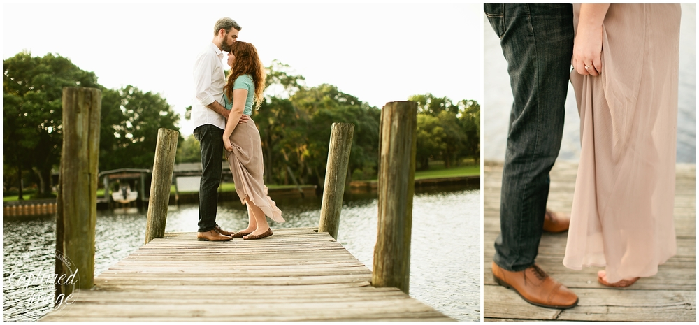 Seminole Heights Film Inspired Engagement Session_0923