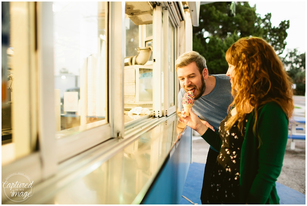 Seminole Heights Film Inspired Engagement Session_0925