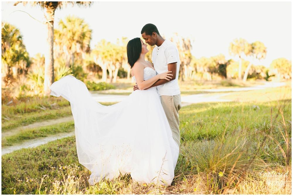 Ft DeSoto Trash the Dress Underwater Wedding Dress_0948
