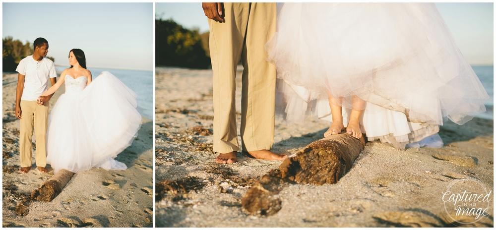 Ft DeSoto Trash the Dress Underwater Wedding Dress_0953