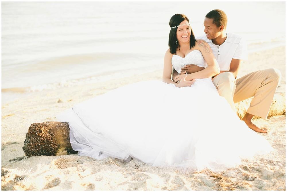 Ft DeSoto Trash the Dress Underwater Wedding Dress_0964