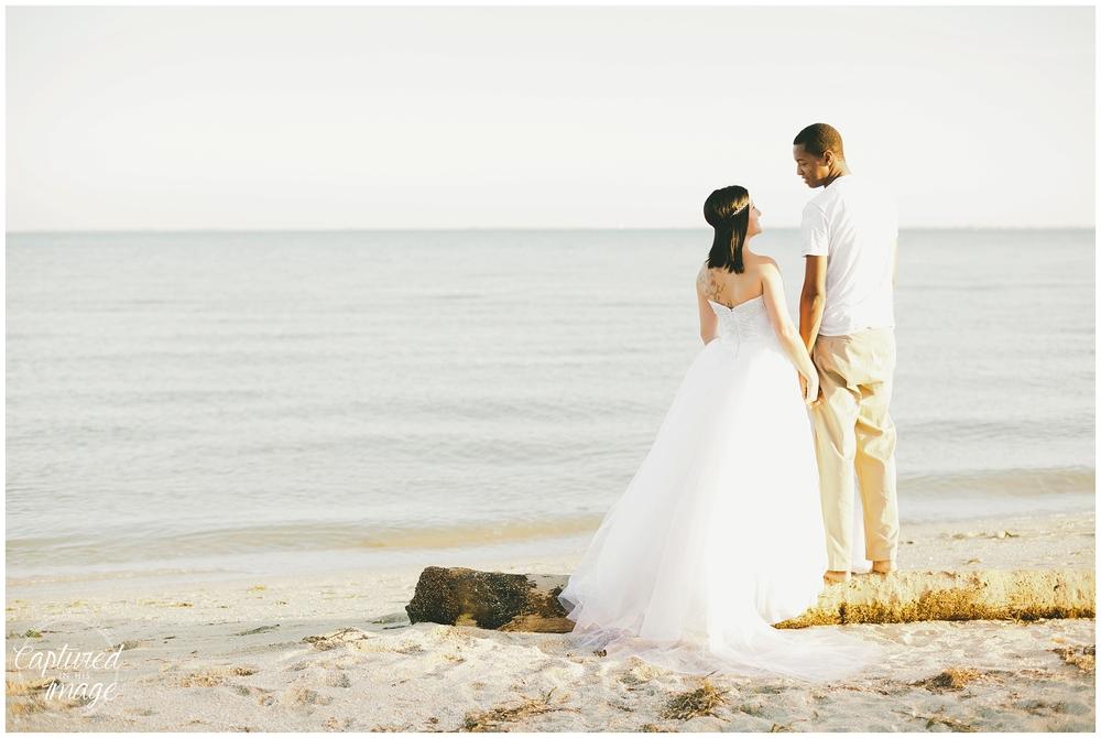 Ft DeSoto Trash the Dress Underwater Wedding Dress_0965
