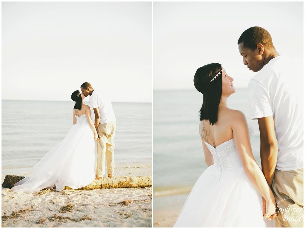 Ft DeSoto Trash the Dress Underwater Wedding Dress_0966