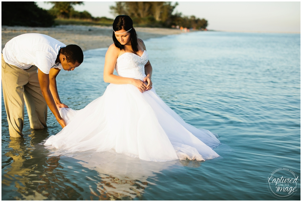 Ft DeSoto Trash the Dress Underwater Wedding Dress_0973