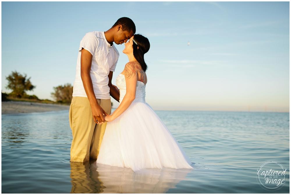 Ft DeSoto Trash the Dress Underwater Wedding Dress_0977