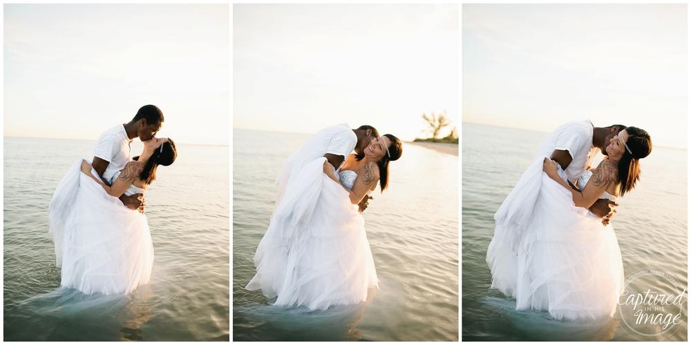 Ft DeSoto Trash the Dress Underwater Wedding Dress_0978