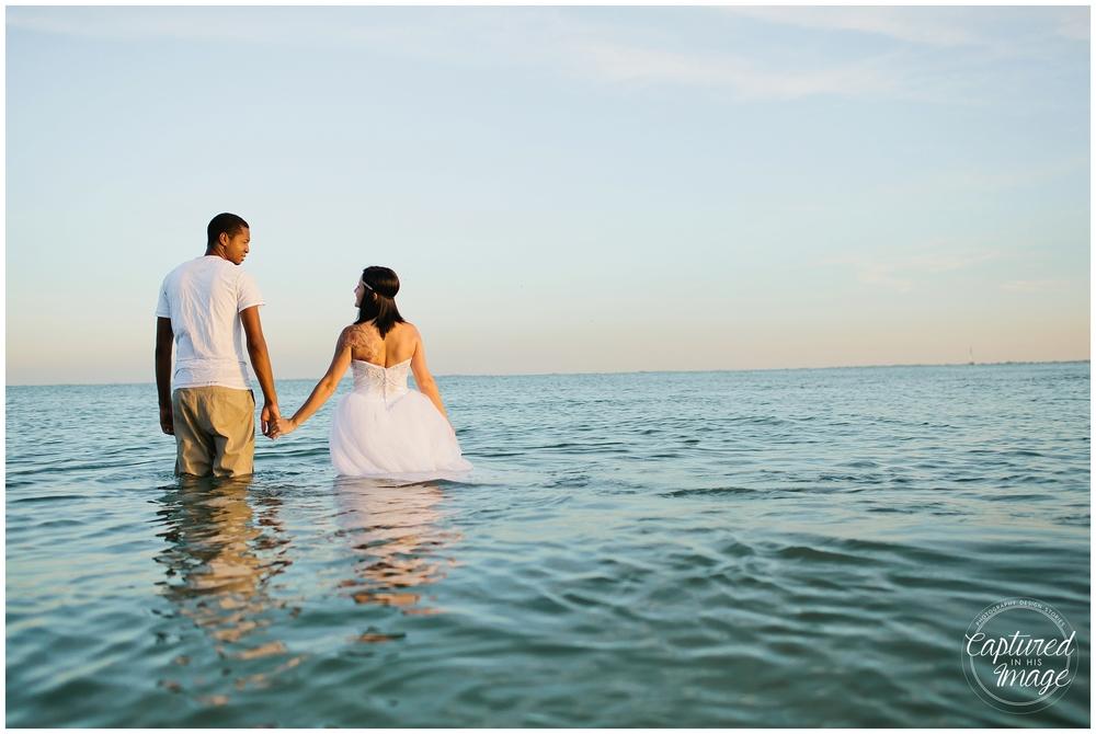 Ft DeSoto Trash the Dress Underwater Wedding Dress_0981