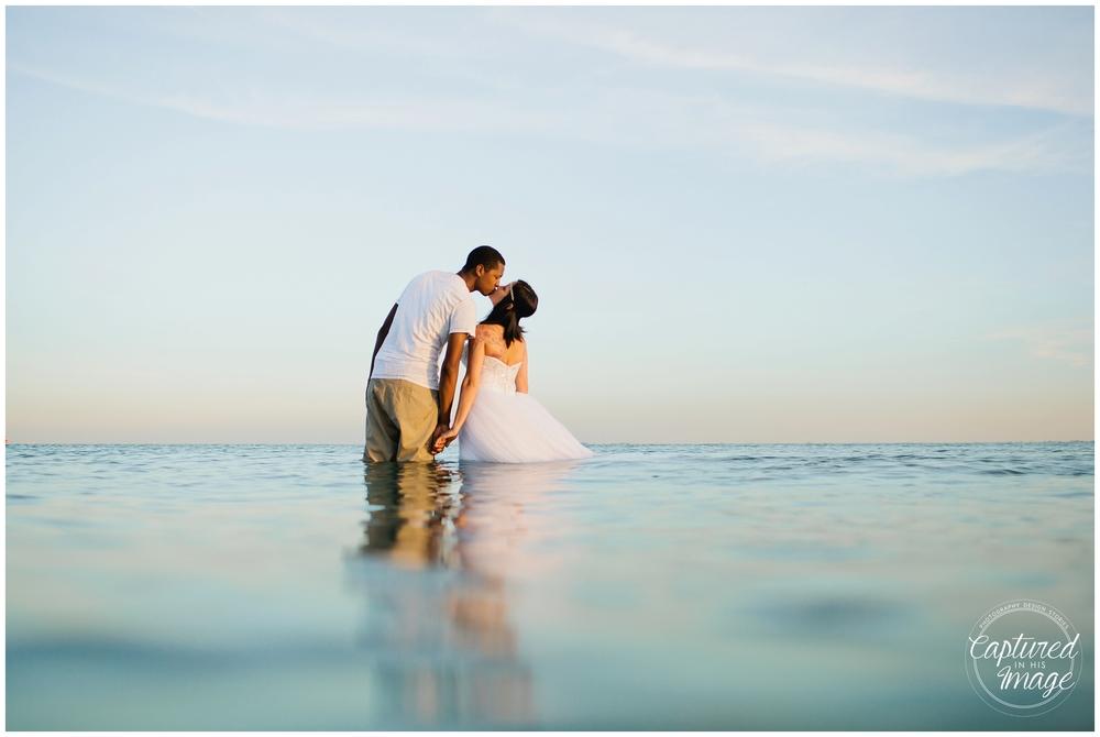 Ft DeSoto Trash the Dress Underwater Wedding Dress_0982