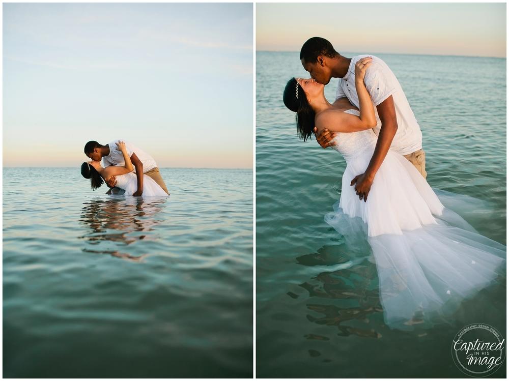 Ft DeSoto Trash the Dress Underwater Wedding Dress_0984