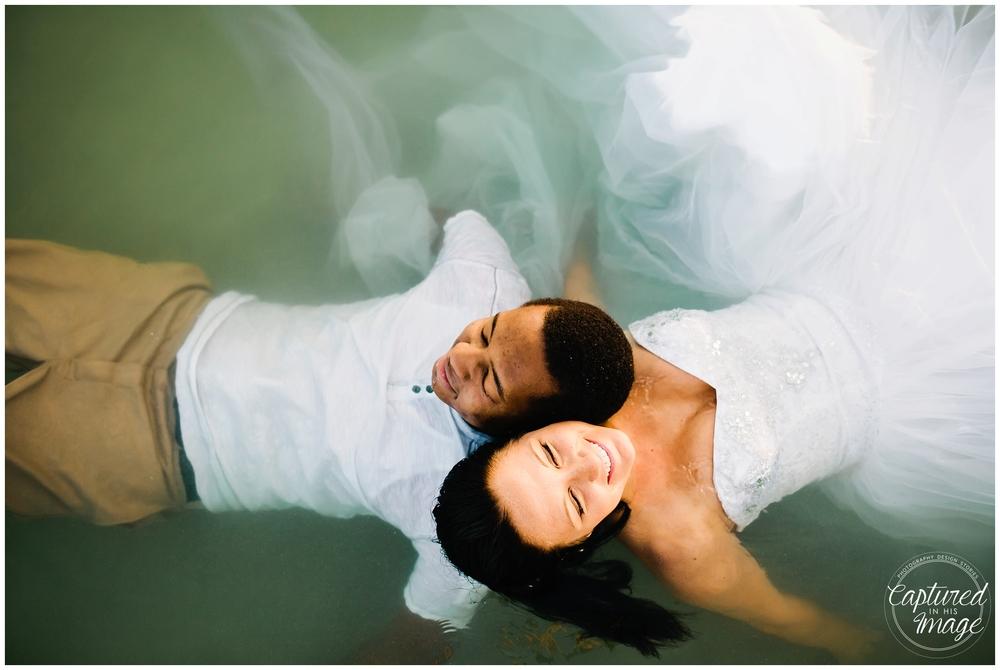 Ft DeSoto Trash the Dress Underwater Wedding Dress_0988