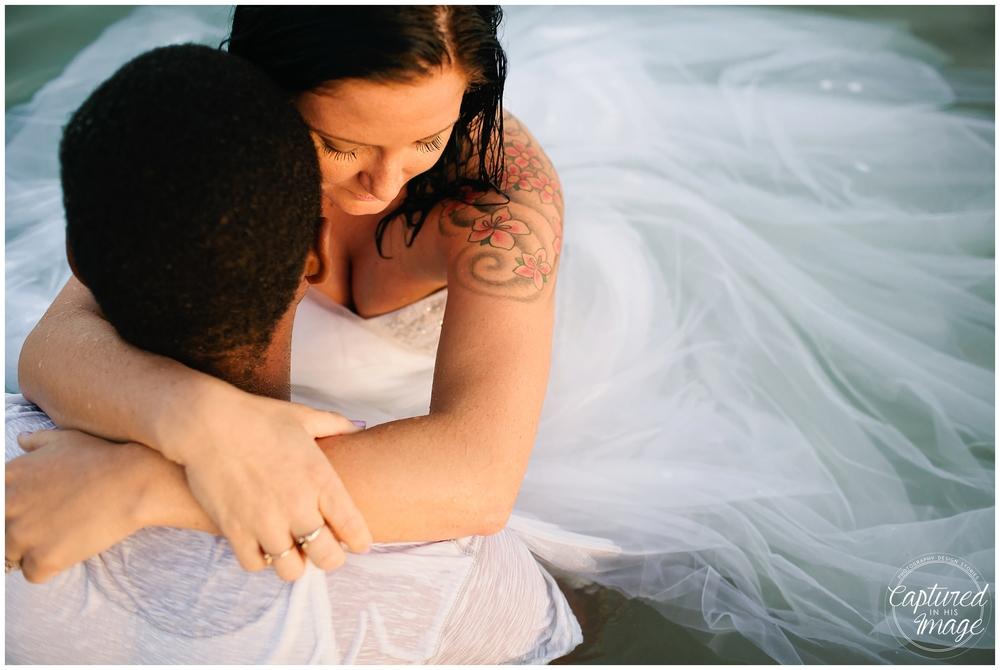 Ft DeSoto Trash the Dress Underwater Wedding Dress_0991