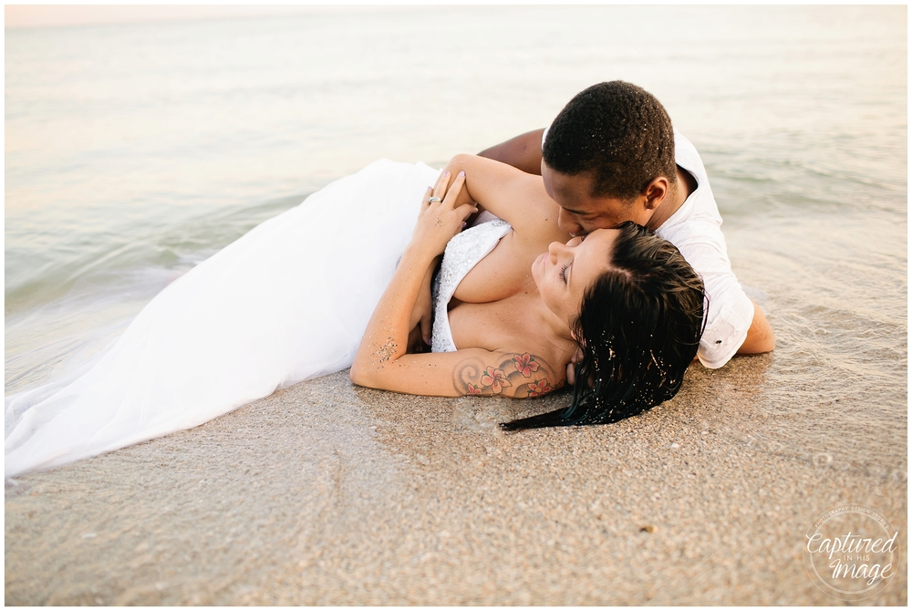 Ft DeSoto Trash the Dress Underwater Wedding Dress_1000
