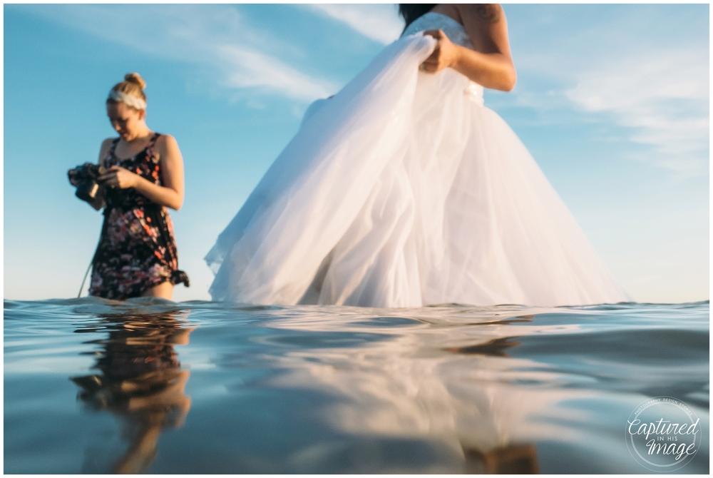 Ft DeSoto Trash the Dress Underwater Wedding Dress_1004