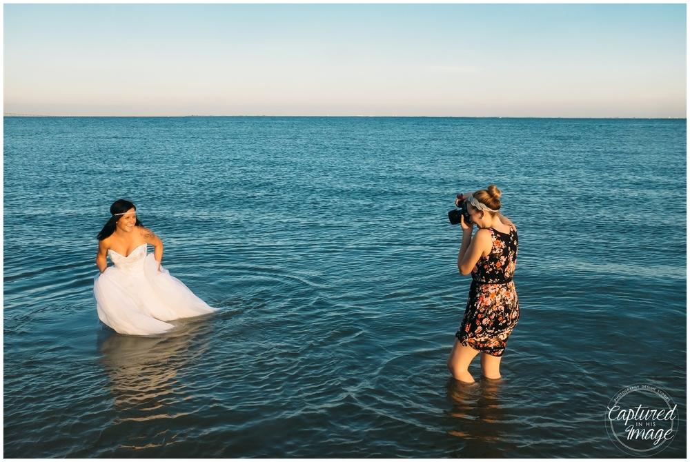 Ft DeSoto Trash the Dress Underwater Wedding Dress_1005