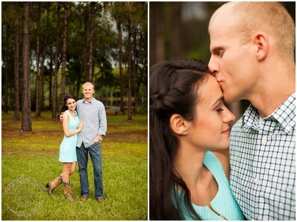 Land O' Lakes Rustic Summertime Engagement Session (3 of 50)