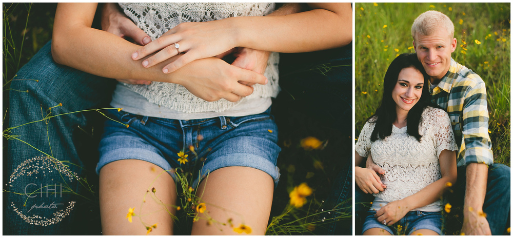 Land O' Lakes Rustic Summertime Engagement Session (14 of 50)
