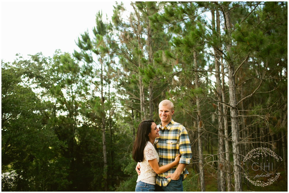Land O' Lakes Rustic Summertime Engagement Session (17 of 50)