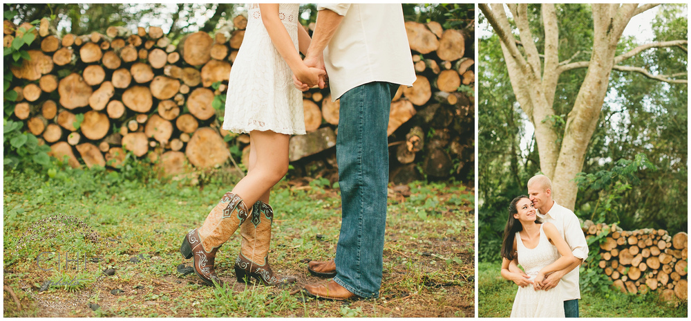Land O' Lakes Rustic Summertime Engagement Session (24 of 50)