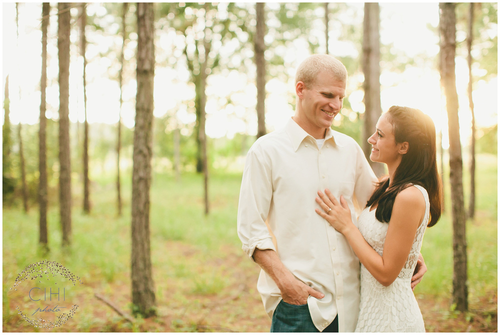 Land O' Lakes Rustic Summertime Engagement Session (27 of 50)