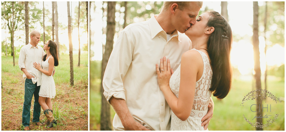 Land O' Lakes Rustic Summertime Engagement Session (29 of 50)