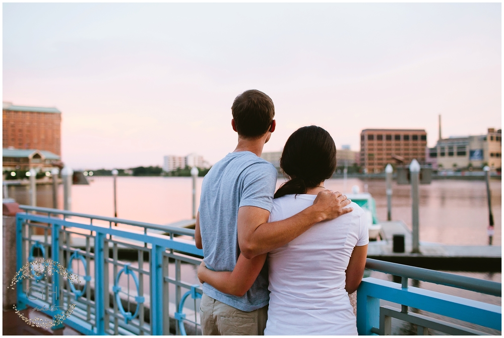 Downtown Tampa Hillsborough River Engagement Session_1443