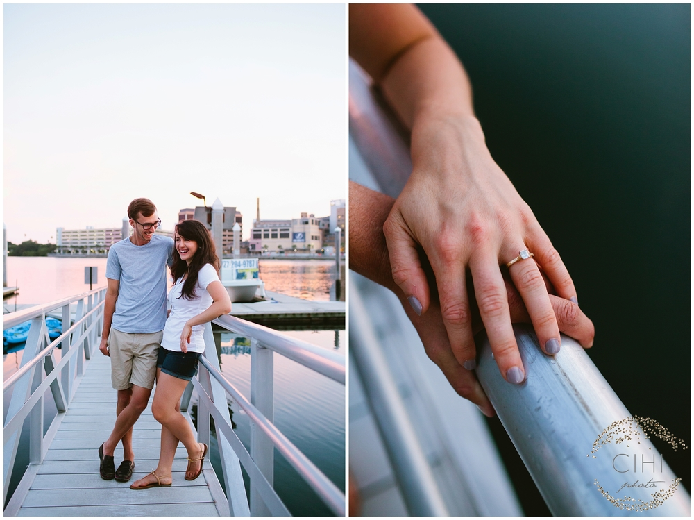 Downtown Tampa Hillsborough River Engagement Session_1445