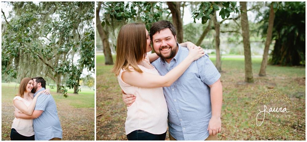 Rivercrest Park Tampa Florida Rustic Winter Engagement Session_0419.jpg