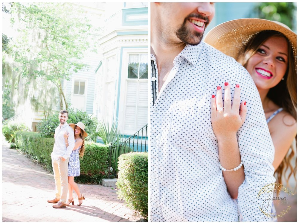 Historic Savannah, GA Summertime Engagement Session_0044.jpg