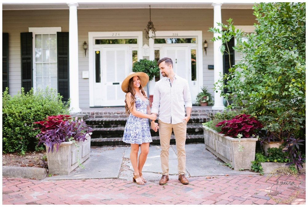 Historic Savannah, GA Summertime Engagement Session_0045.jpg