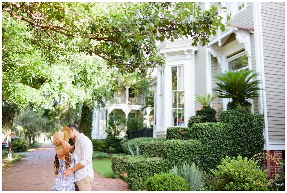 Historic Savannah, GA Summertime Engagement Session_0051.jpg