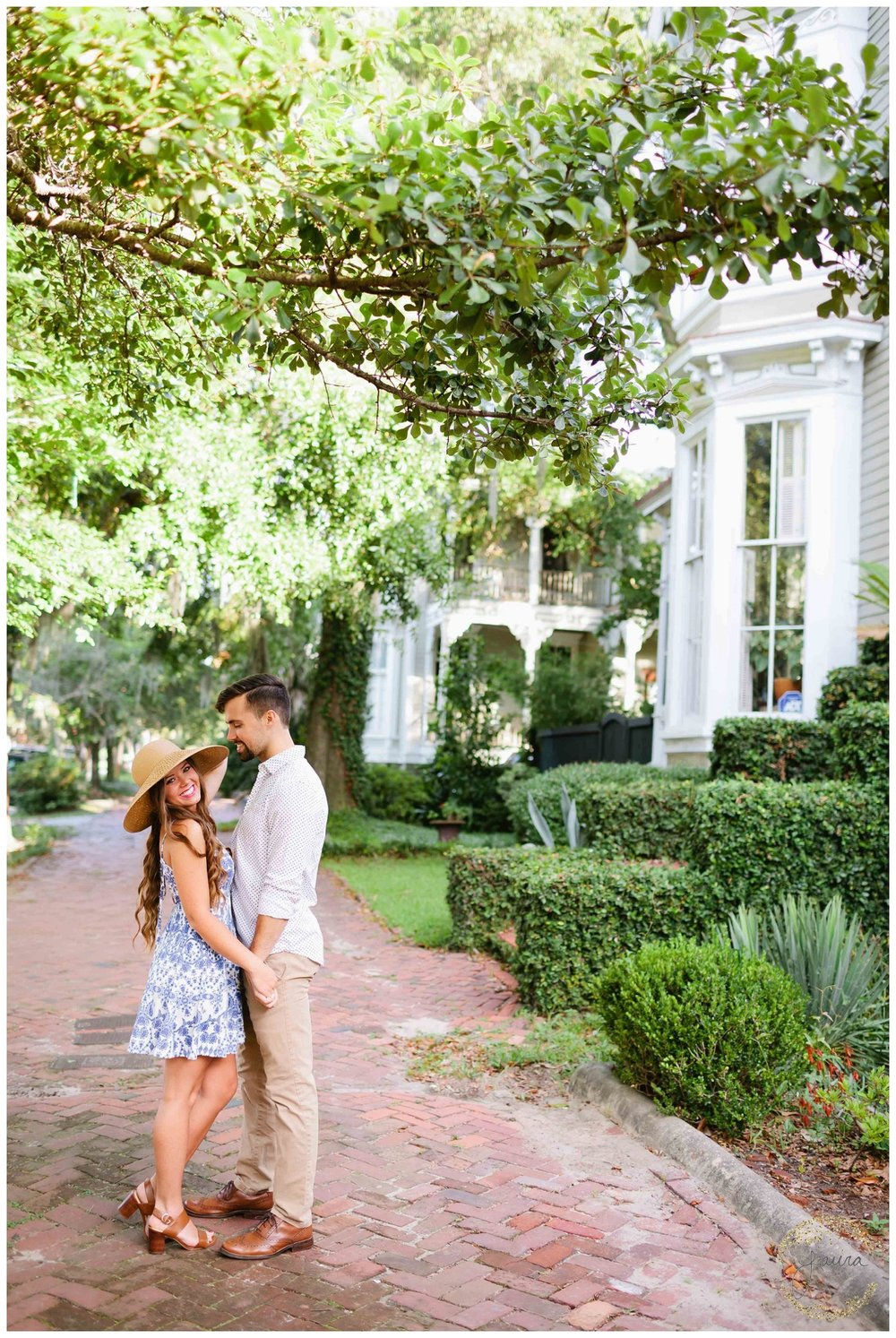 Historic Savannah, GA Summertime Engagement Session_0050.jpg