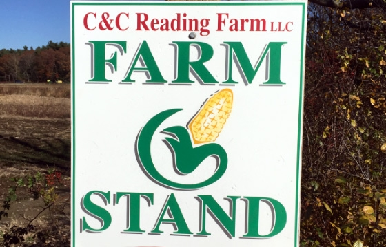 C&C Reading Farm / Bridgewater 10% off produce purchases