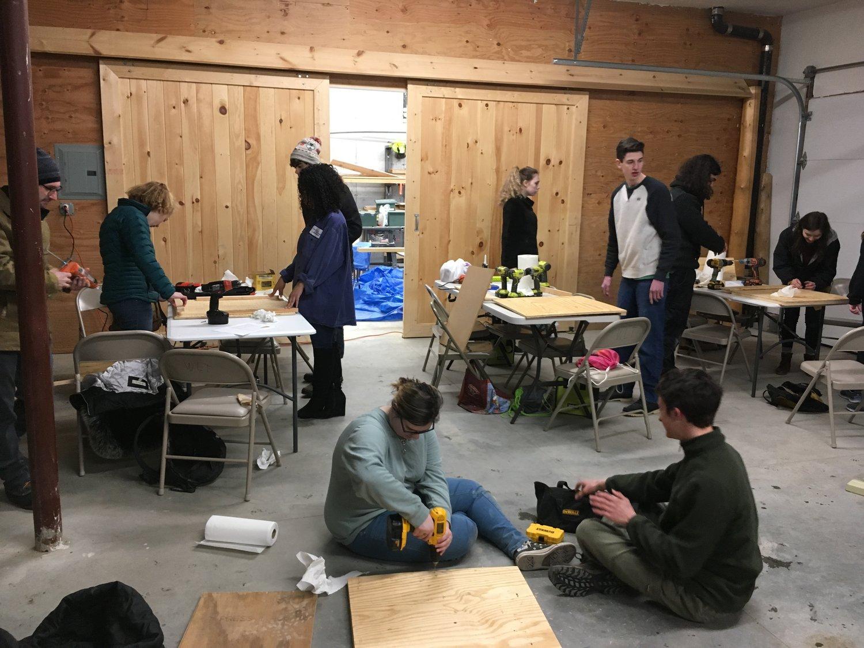 Wildlands Trust High School Woodworking With Wildlands