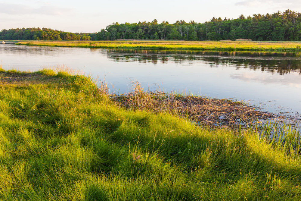 North River in Marshfield.