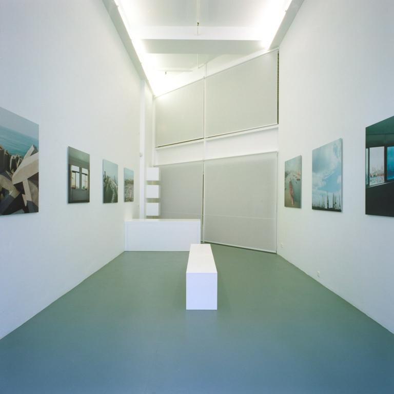 Alexandre Christiaens.  Post-It Zones  (exhibition view)