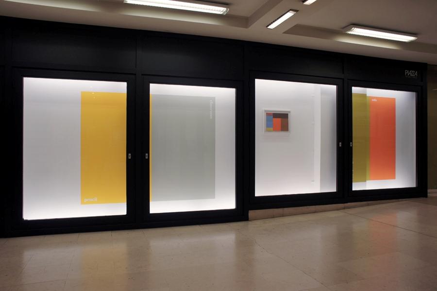Ane Vester. Piazza Wall Painting (installation view)