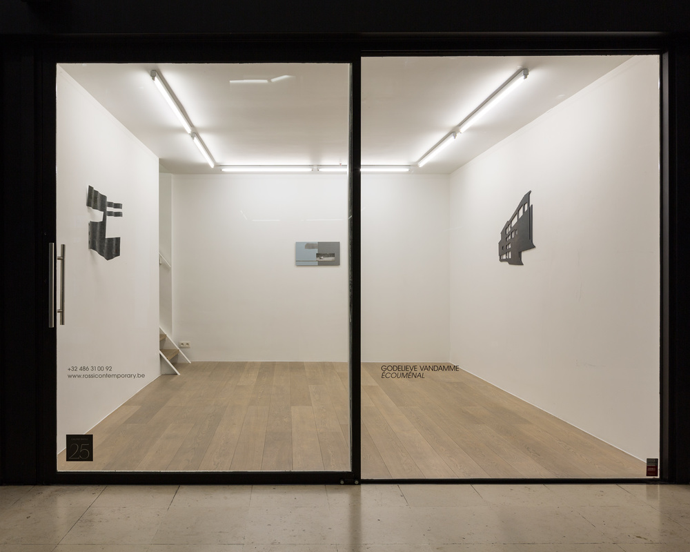 Godelieve Vandamme.  Ecoumenal  Exhibition View – Ground floor