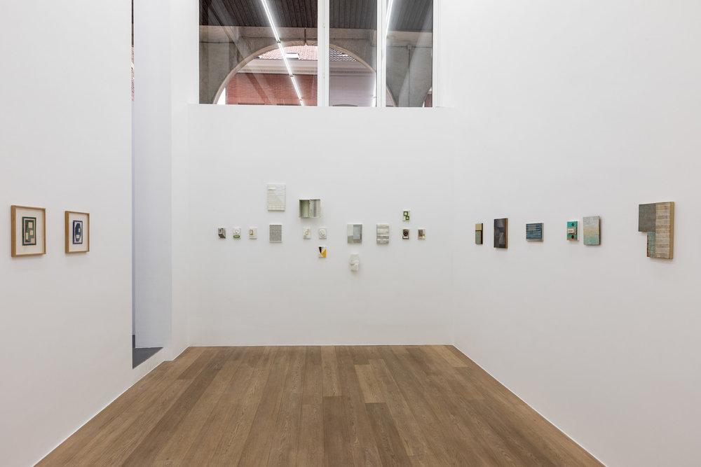 P.B. Van Rossem.  Manipolazioni ritmo - cromatiche  Exhibition View