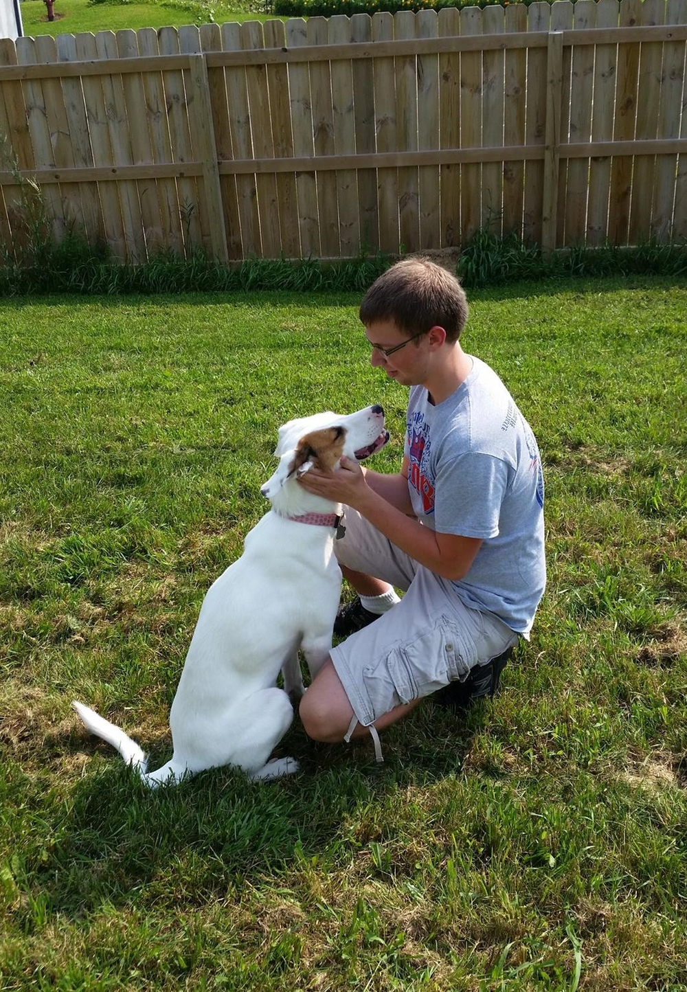 Molly (Deaf Spaniel Mix) and Kyle