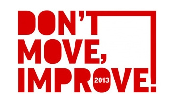 Don't Move Improve 2013 Shortlist