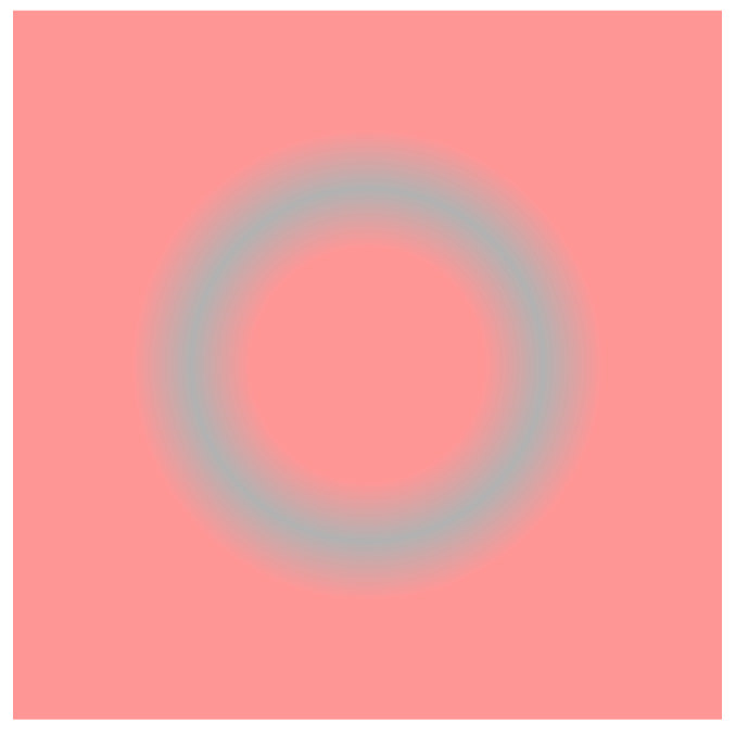 """Illusory blue ring"""