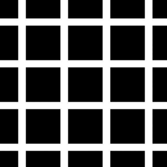 """Hermann Grid Illusion"""