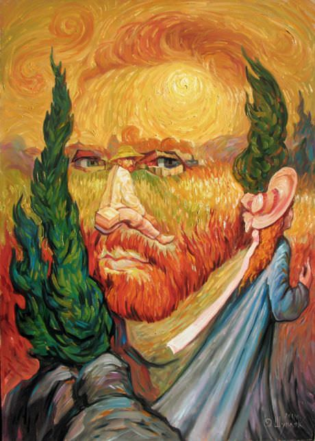 """Double Portrait of Van Gogh"""