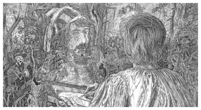 """Durer in the Forest"" - by Istvan Orosz"