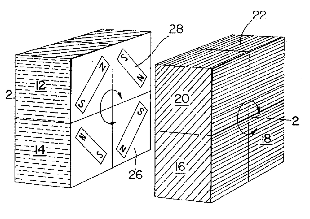Larry Nichols patented his 2x2x2 cube in 1972, just 2 years before Erno Rubik patented his. Nichols' cube was held together via magnets, unlike Rubik's, which was held together via interlocking mechanisms.
