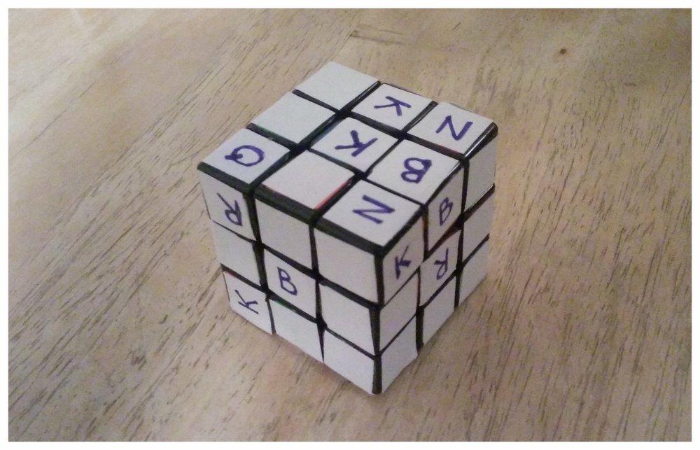 Rubik's Chess Puzzle
