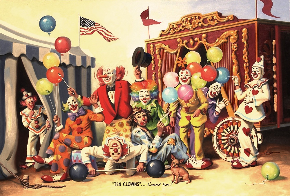 """Ten Clowns"""