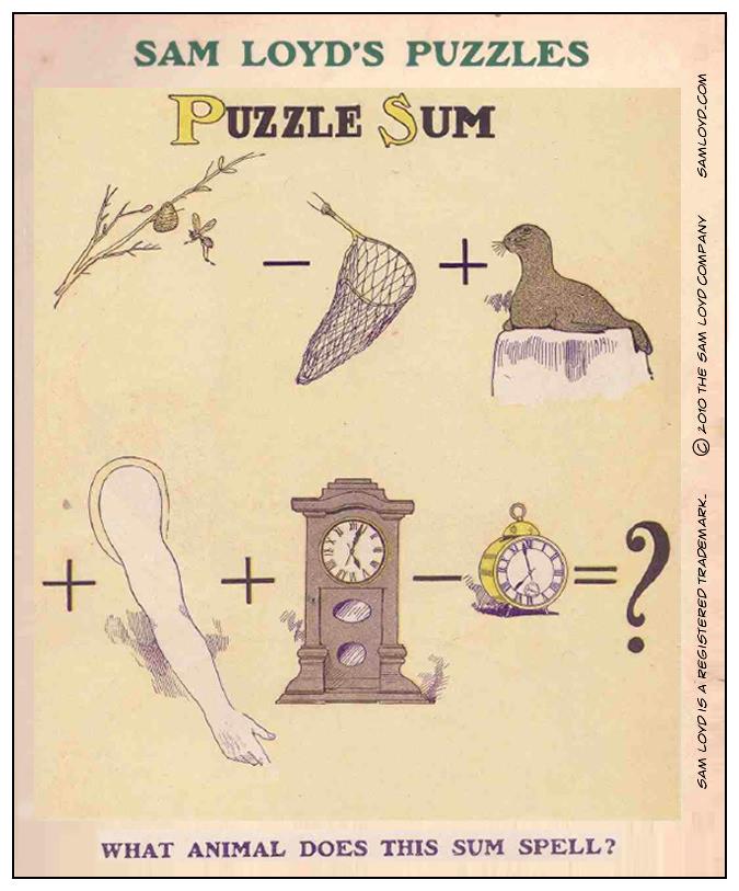 Puzzle Sum 8