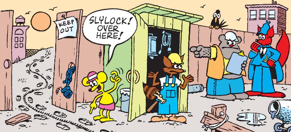 Slylock Fox Puzzle