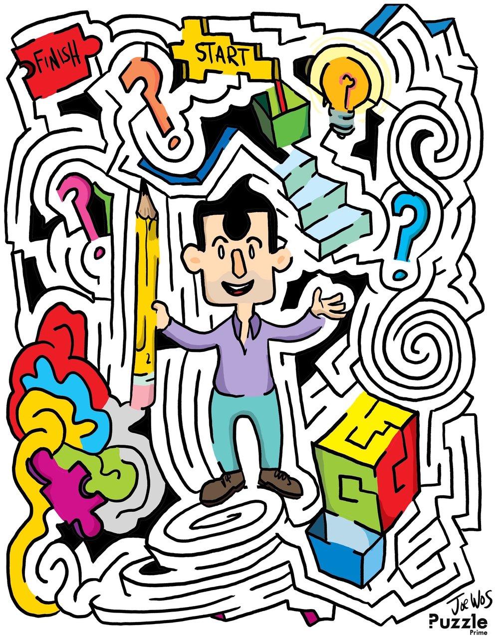 Puzzle Prime Maze